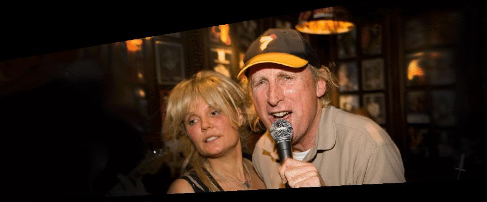 Otto Waalkes im ZWICK Pöseldorf mit Susi Salm, Live-Musik