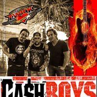 WE WILL ROCK YOU! CASH BOYS LIVE! Unsere Hausband will mit EUCH feiern und tanzen!
